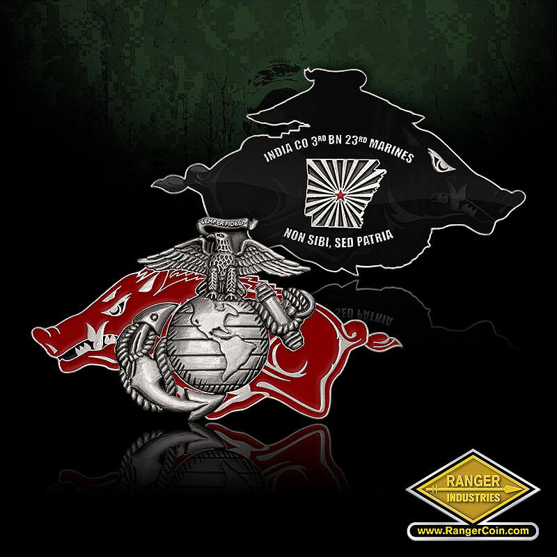 India Company - India Co 3rd BN 23rd Marines, Non Sibi, Sed Patria, warthog, dui