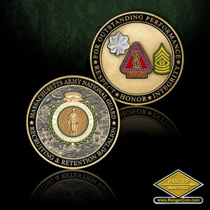 SC-0066 MA ARNG RRB Command Team coin
