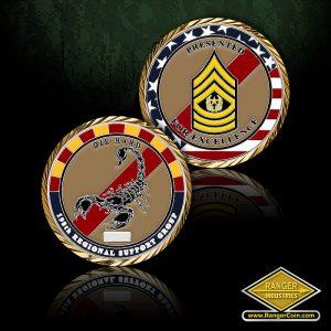 SC-0068 AZ ARNG 198th CSM coin