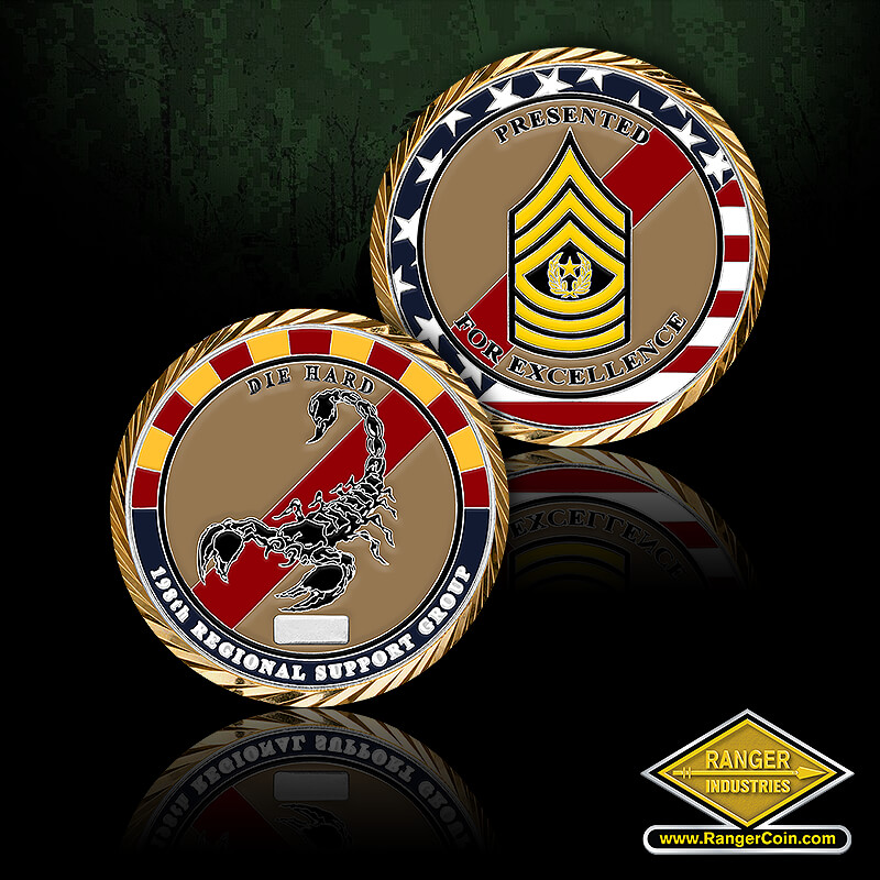 AZ ARNG 198th CSM coin