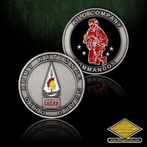 SC-0238 OH ARNG Kilo Company Coin