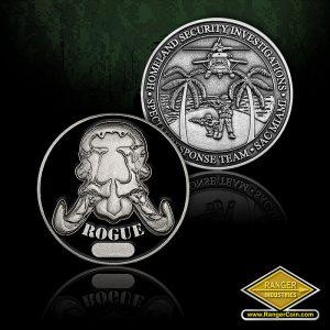 SC-0297 HSI Miami SRT Unit coin