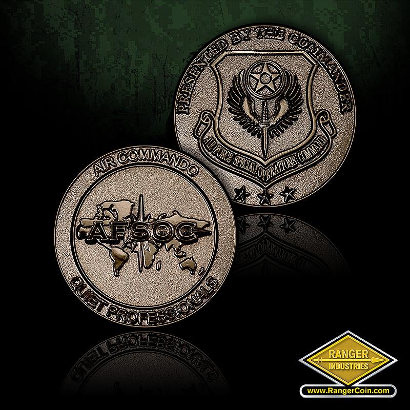 AFSOC CG Air Commando coin