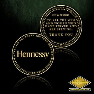 SC-0423 Hennessy 2013 Thank You Coin