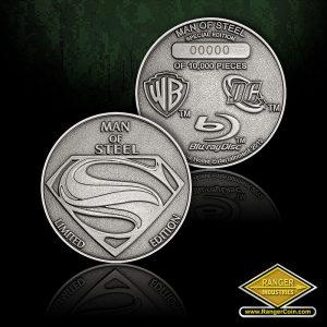 SC-0463 Man of Steel Diamond Metal