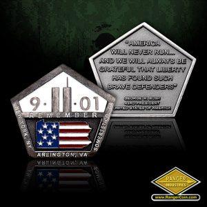 SC-0576 9-11 Memorial Tribute Coin