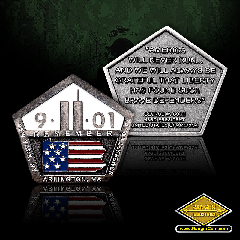 9-11 Memorial Tribute Coin
