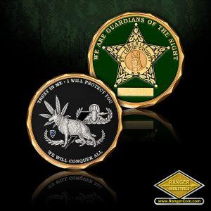 SC-0587 St. Lucie K9 coins