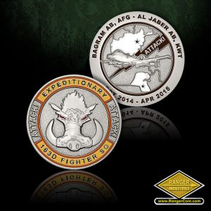 SC-0600 163D Fighter SQ A10 Coin