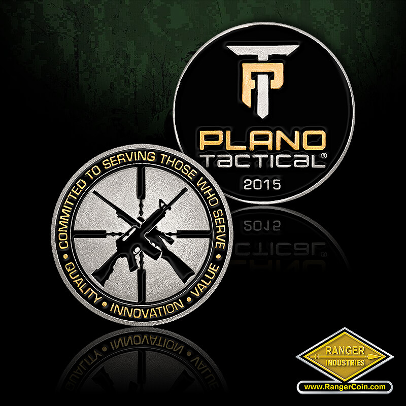 Plano Tactical Intro coin