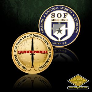 SC-0737 SOF Missions coin