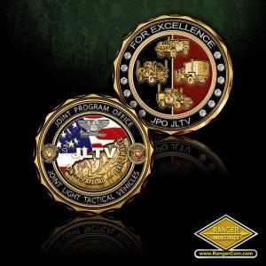 SC-0761 JPO JLTV for Excellence coin