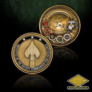 SC-0797 USSOCOM Deputy Commander coin with EGA