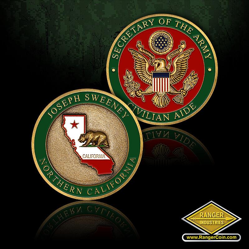 CASA Northern CA – Joe Sweeney - Joseph Sweeney, norther California, grizzly bear, Secretary of the army, civilian aide, Army seal