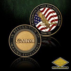 SC-0686 Canon USA Law Enforcement coin