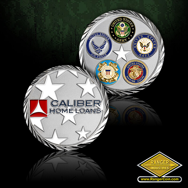 Caliber Home Loans - Caliber Home Loans, stars, Army, Navy, Air Force, Marine Corps, Coast Guard, star