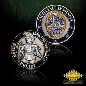 SC-0895 Bryan PD Texas Police