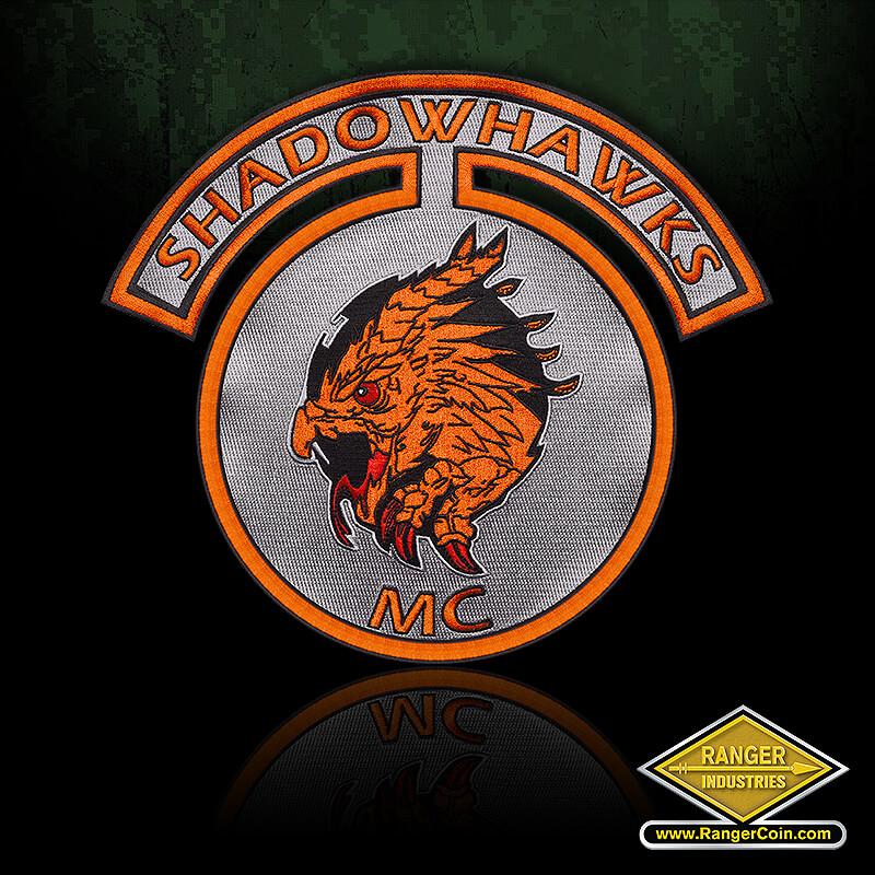 Shadowhawks Patch - Shadowhawks, MC, Hawk