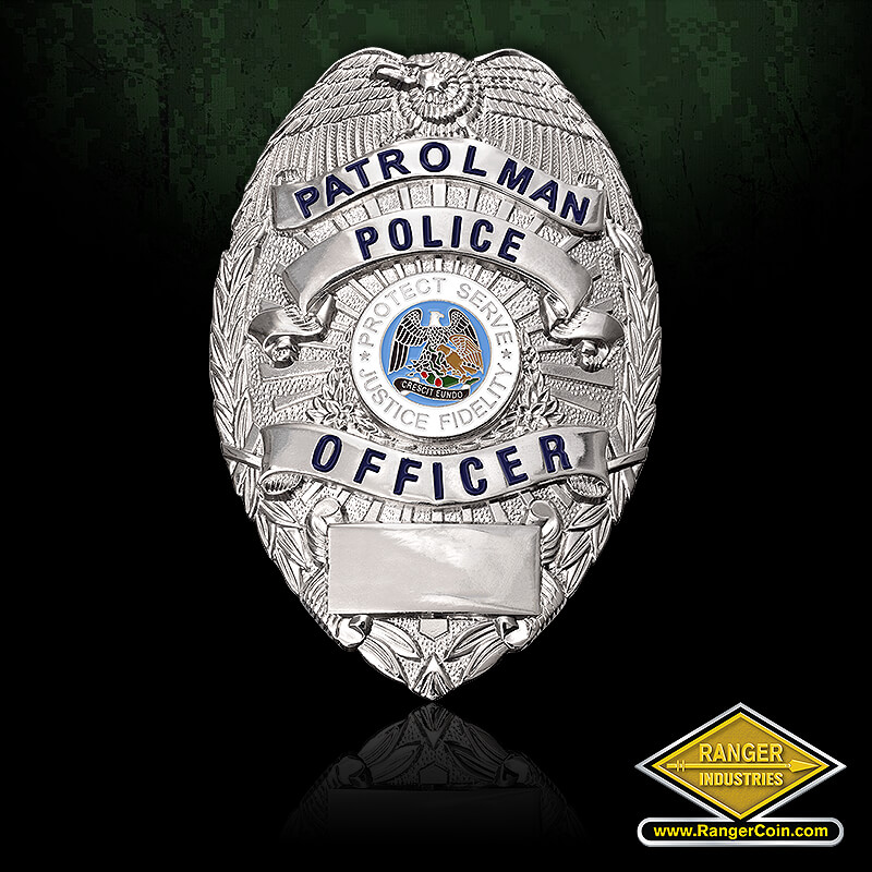 Patrolman Police Officer Badge