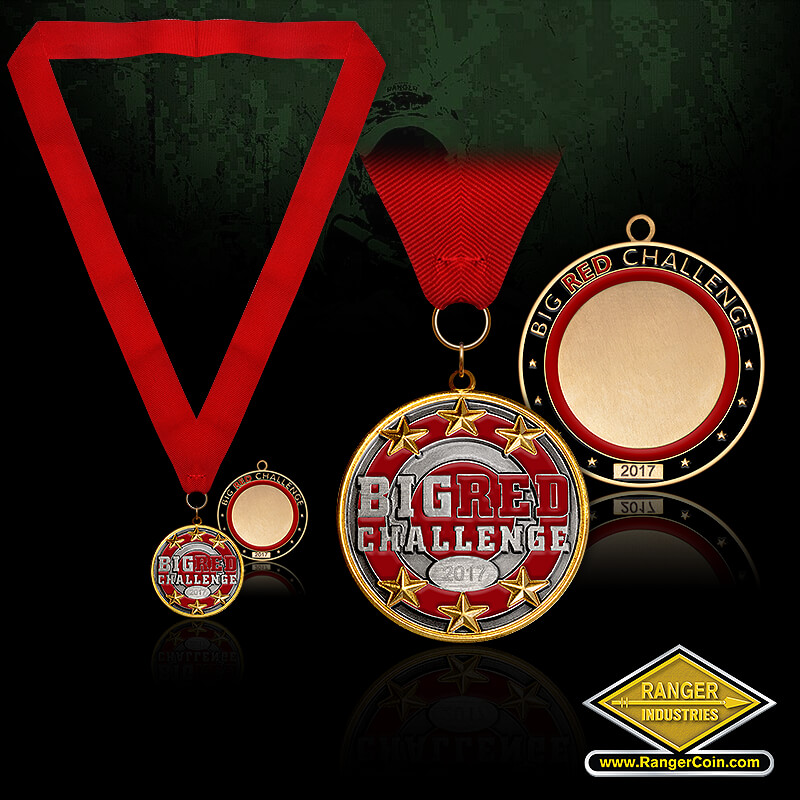 Big Red Challenge 1st Place Medal