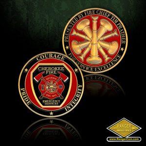 SC-0908 Cherokee Fire Chief Prather