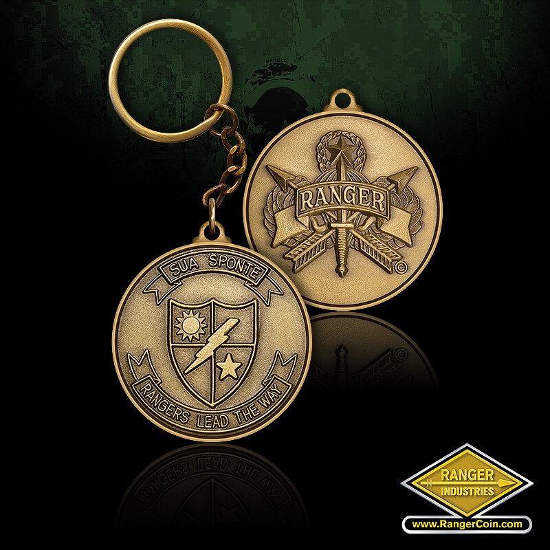 Rangers Lead The Way Key Chain