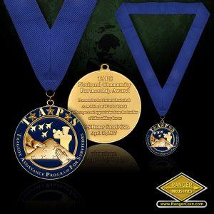 SC-0922 TAPS Gala Neck Medal