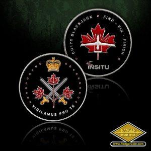 SC-1021 Insitu Canadian Coin