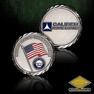 SC-1048 Caliber Home Loans Patriot Brand coin