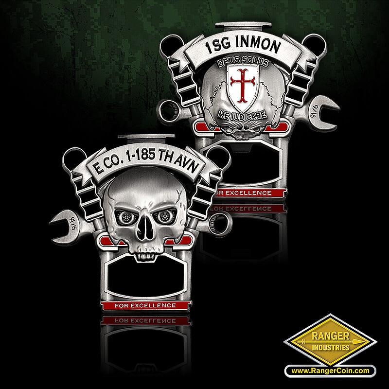 E Co 1-185th AHB - 1SG Inmon, Deus Solus, Me Iudicare, For Excellence, 1 SG Inmon, Deus Solus, Me Judicare, For Excellence 9/16
