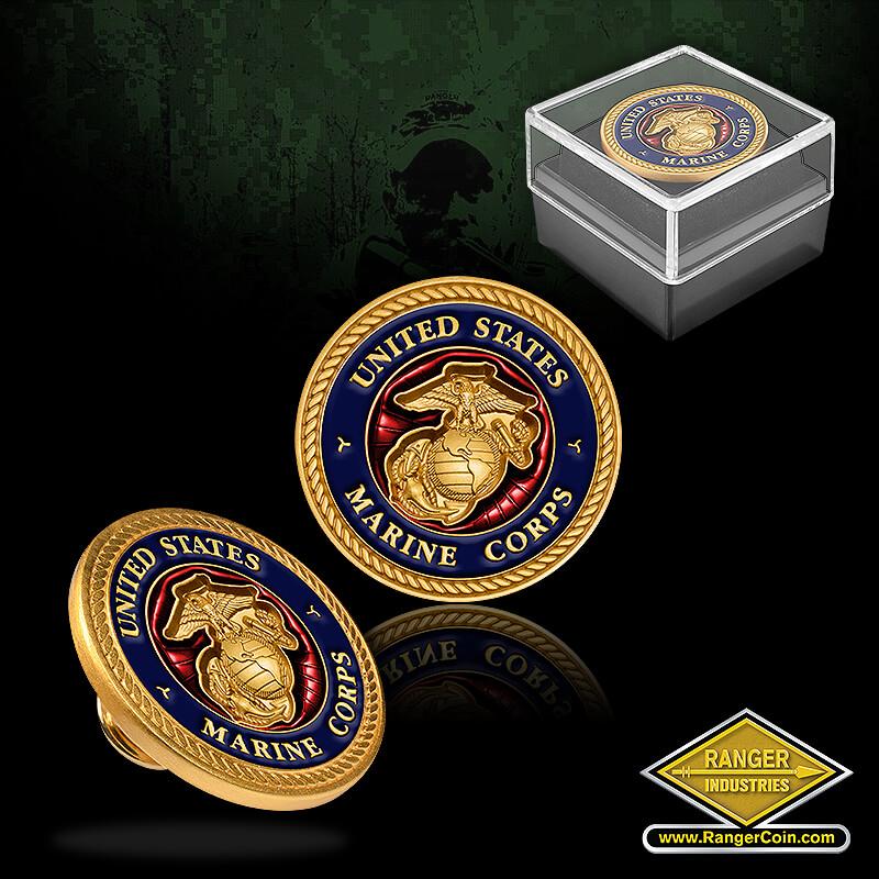 Marine Corps Lapel Pin - United states marine corps, marine corps ega