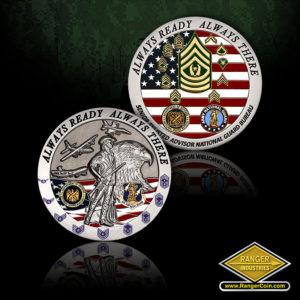 SC-1072 NGB Senior Enlisted Advisor coin