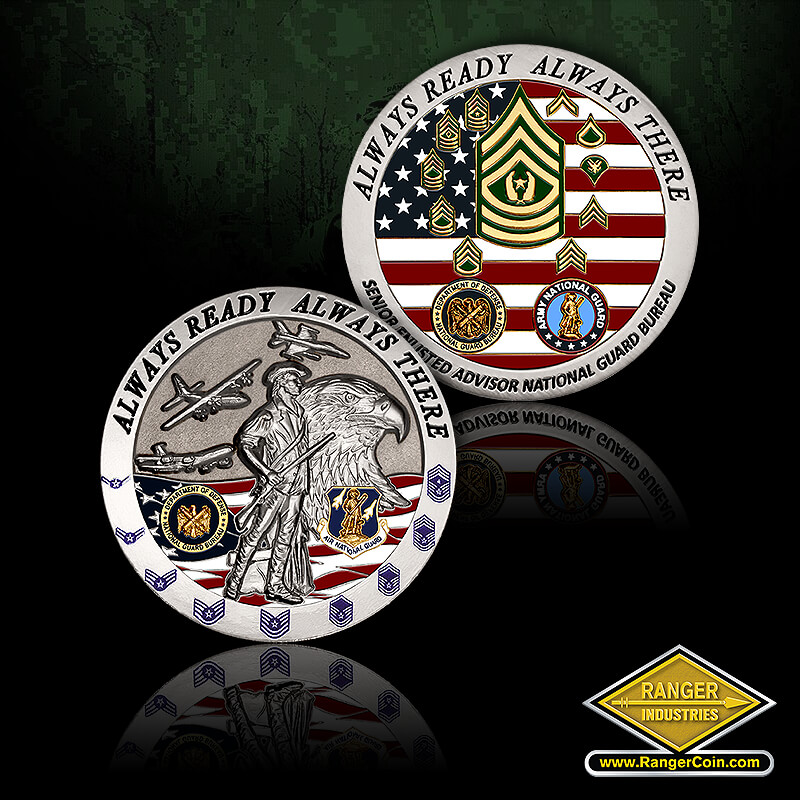 NGB Senior Enlisted Advisor coin