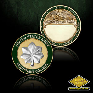 SC-1096 US Army Lt Colonel Engravable Coin
