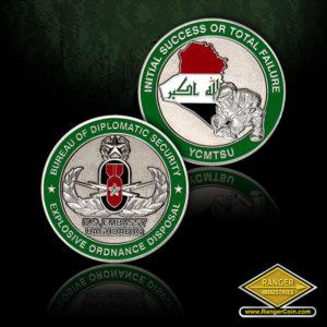 SC-1087 DSS Iraq EOD coin