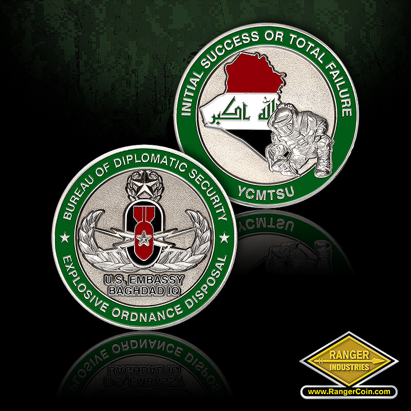 DSS Iraq EOD coin