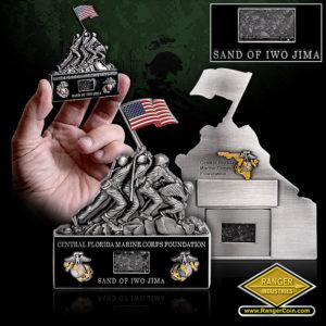 SC-1117 Central Florida Marine Corps Foundation IWO JIMA