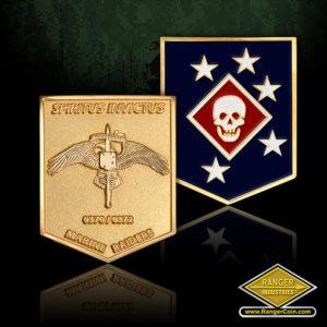 SC-0723 V4U Marsoc Raiders Recruiting coin