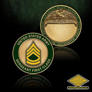 SC-1158 US Army Sgt 1st Class Engravable