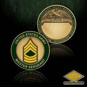 SC-1159 US Army Master Sergeant Engravable