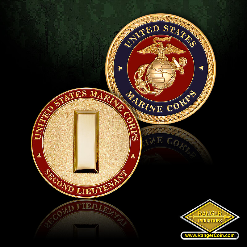 Marine Corp 2nd LT - United States Marine Corps, EGA, United States Marine Corps, Second Lieutenant