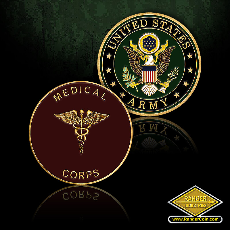 Army Medical Corps - Medical Corps, Caduceus , United States Army