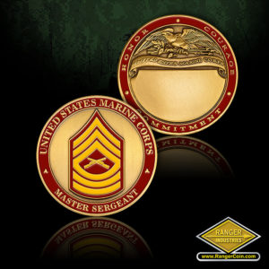 SC-1269 USMC Master Sergeant Engravable