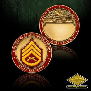 SC-1271 US Marines Staff Sergeant Engravable