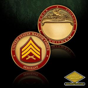 SC-1272 US Marines Sergeant Engravable