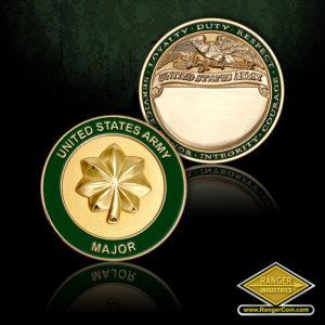 SC-1274 US Army Major Engravable