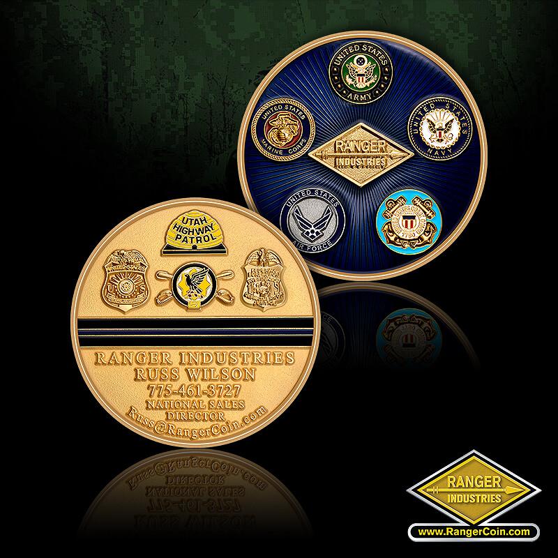 Russ Wilson - Ranger Industries, ARMY, NAVY, USAF, USMC, USCG, Utah Highway Patrol, FBI, Air Marshall, DOJ, Ranger Industries Russ Wilson, National Sales Director