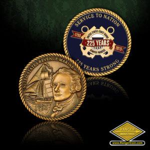 SC-5273 AFD US Coast Guard 225 Years Service