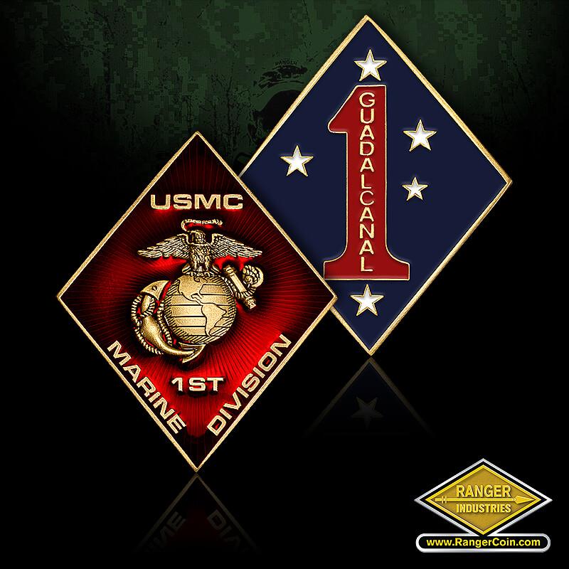 USMC 1st Marine Division - Guadalcanal 1, USMC 1st Marine Division