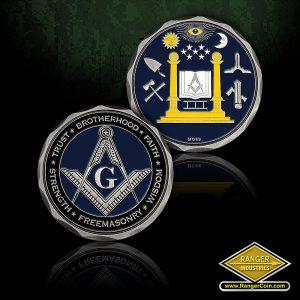 SC-5345 Freemason Coin